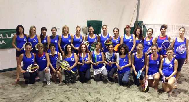 beach tennis viserba donne